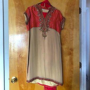 Pink Indian Salwaar Kameez Suit